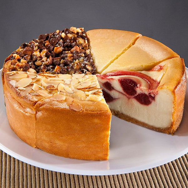 Gourmet Cheesecake Sampler 6