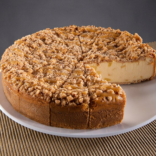 Caramel Apple Crunch Cheesecake 6