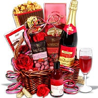 Evening of Indulgence Non Alcoholic Gift Basket (6195)