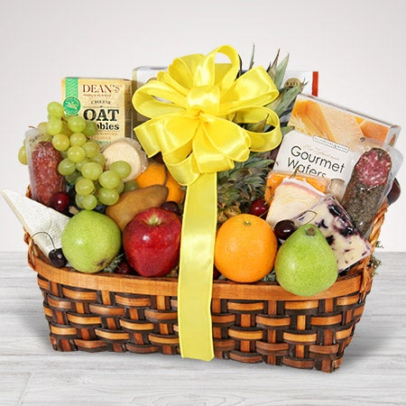 Fruit Cheese Amp Crackers Same Day Delivery By