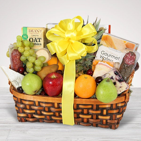 Same day delivery gift baskets by gourmetgiftbaskets fruit cheese amp crackers same day delivery 3513 negle Choice Image