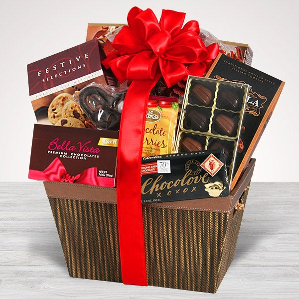 Gourmet Chocolate Same Day Delivery By Gourmetgiftbaskets Com