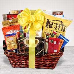 Gourmet Snack & Chocolate Basket - Same Day Delivery
