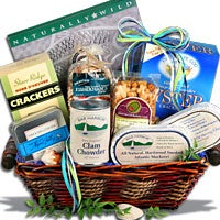 Bounty Of The Sea™ - Seafood Gift Basket - (RETIRED) (4011)