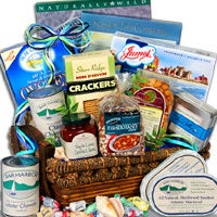 Fisherman's Feast™ - Seafood Gift Basket - (RETIRED) (4012)