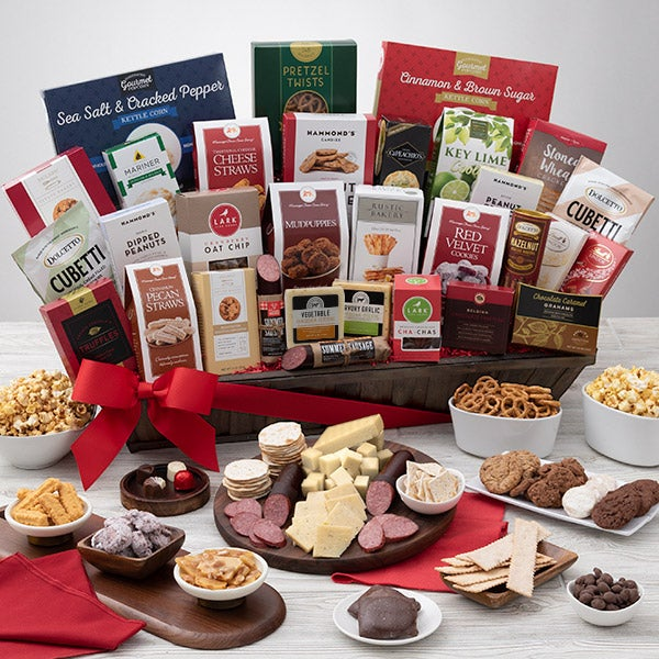 Signature Series Executive Suite Snack Gift Basket By