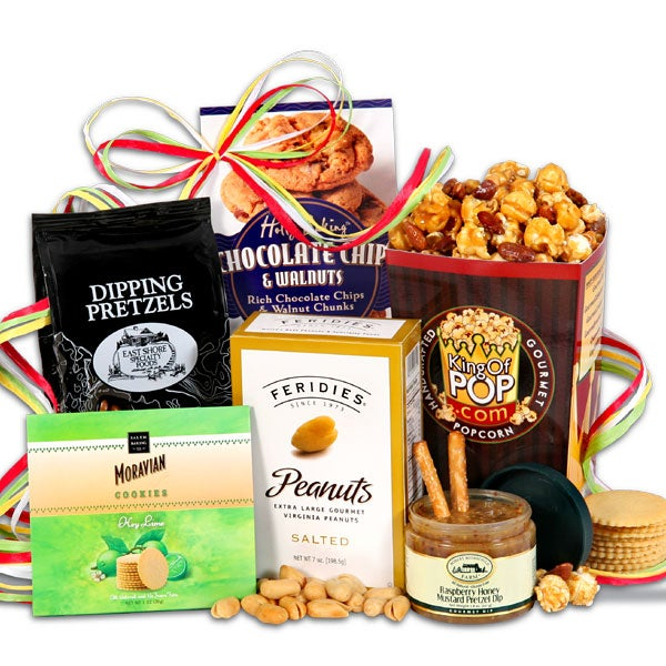 Snack Gift Basket Stack