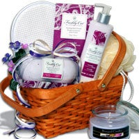 Candlelight Bubble Bath™ Spa Gift Basket - (RETIRED) (6262)