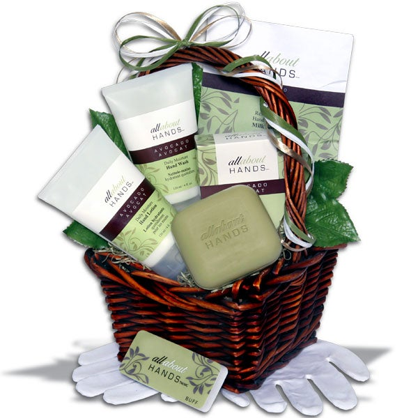 Complete Hand Care Gift Basket™ - (RETIRED)
