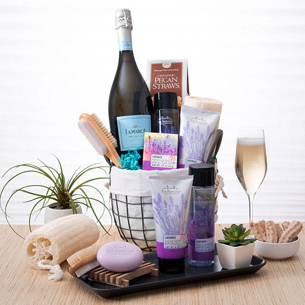 Day at The Spa Gift Basket