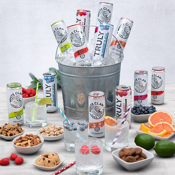 Spiked Hard Seltzer Sampler Gift Bucket - 6 Hard Seltzers