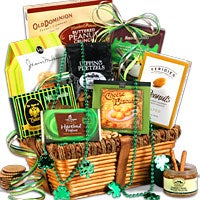 Kiss Me I'm Irish – St. Patrick's Day Gift Basket (4740)