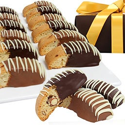 Belgian Chocolate Dipped Biscotti (9031)