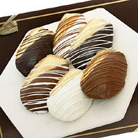 Belgian Chocolate Dipped Madeleine Cookies (9033)