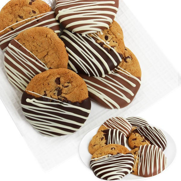 Belgian Dipped Chocolate Chip Cookies