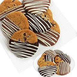 Belgian Dipped Chocolate Chip Cookies (9030)