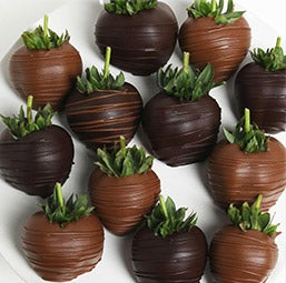 Dark & Milk Chocolate Covered Strawberries (9004)