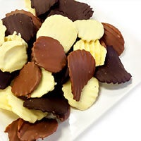 Belgian Chocolate Covered Potato Chips (9061)