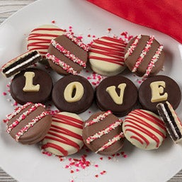 Love Oreo® Cookies - great anniversary gifts or Valentine's Day gifts