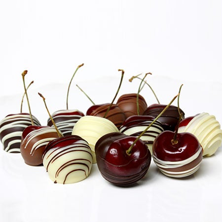 Triple Chocolate Covered Cherries