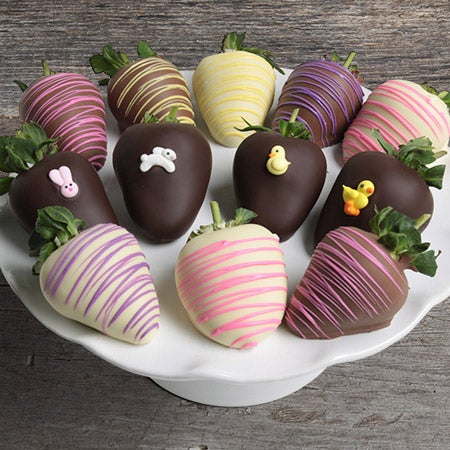 Triple Chocolate Springtime Berries