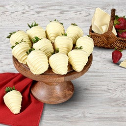 White Chocolate Covered Strawberries (9052)