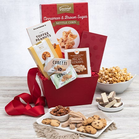 Favorite Treats Gift Basket
