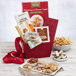 Favorite Treats Gift Basket