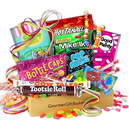 Nostalgic Candy Gift Crate By Gourmetgiftbaskets Com