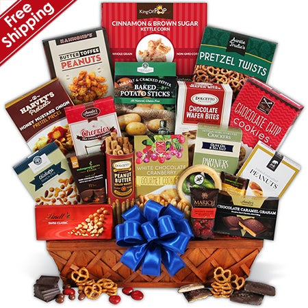 Sweets Gift Basket - Deluxe