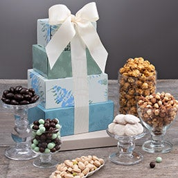 Festive Favorites Gift Tower