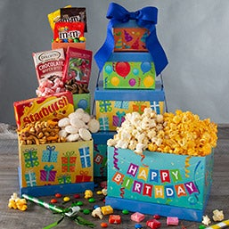 Happy Birthday Gift Tower (6803)
