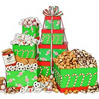 Peppermint Twist Gift Tower (6820)