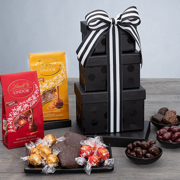Sweet Chocolate Surprises Gift Tower