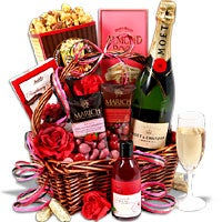 An Evening Of Indulgence™ - Valentine's Day Gift Basket (6254)