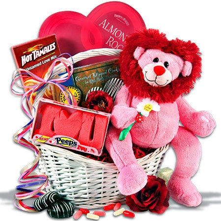 ... GourmetGiftBaskets.com Individual Products My Heartu0027s Not LION Valentineu0027s  Day Gift Basket N/A N/A 4595 39.99 ...