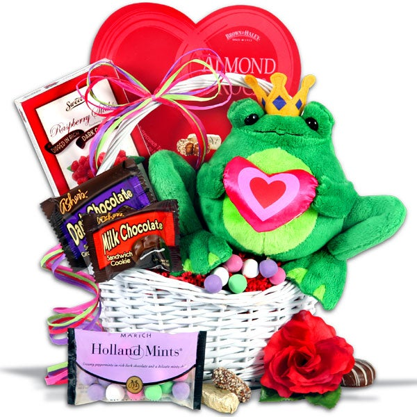 Toadally yours - Valentines day gift basket