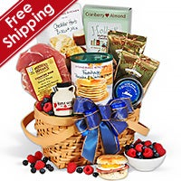 Valentine's Day Breakfast In Bed Gift Basket™ (4597)