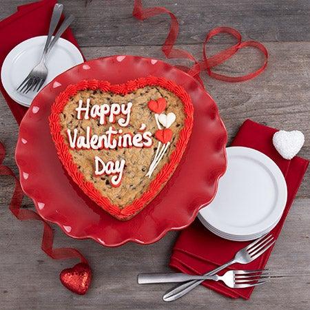 Valentine S Day Cookie Cake By Gourmetgiftbaskets Com