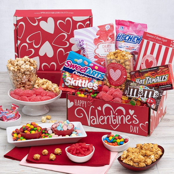 Valentine's Day Gift Basket For Kids