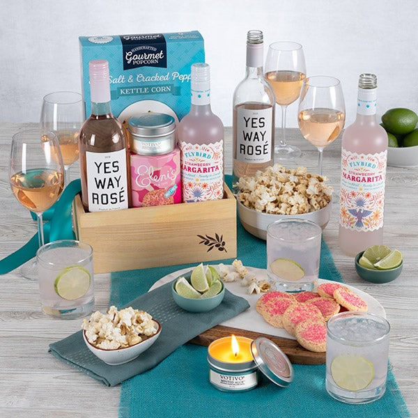 Engagement Gift Basket By GourmetGiftBaskets.com