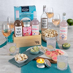 Engagement Gift Basket (1206)