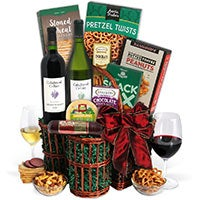 Cakebread Duo Wine Gift Basket (5132)