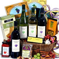 Cakebread Vineyard Tour™ - Wine Gift Basket (5094)