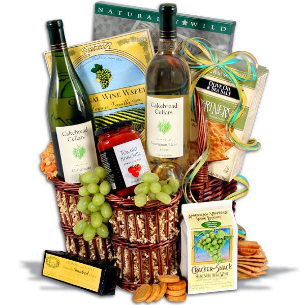Cakebread Whites™ Wine Gift Basket