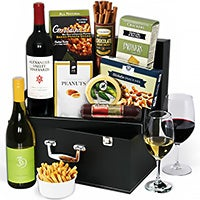 Platinum Collection Wine Suitcase