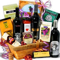 Silver Oak Showcase™ - Wine Gift Basket (5099)