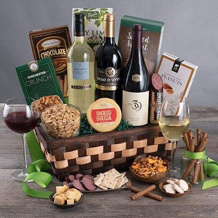 Wine Cellar Collection Gift Basket photo