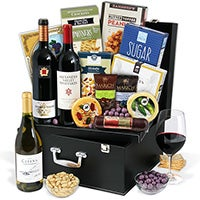 Wine Lover's Suitcase Trio