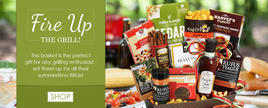 Grilling and BBQ Gift Baskets